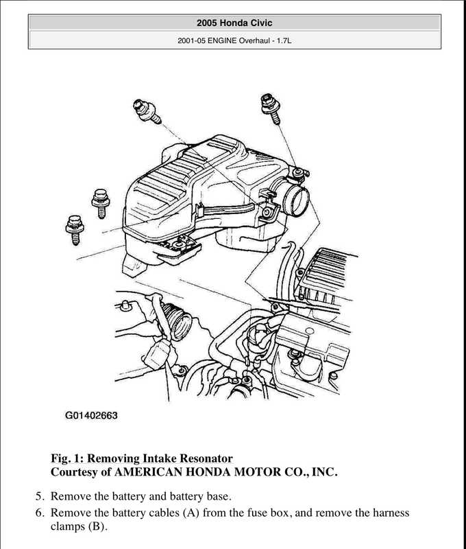 2001-2005 Honda Civic Shop Manual image 2 preview
