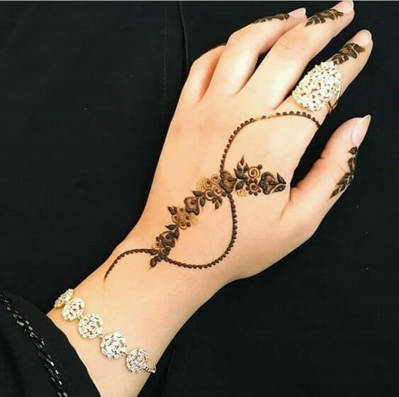 Latest Mehndi Design Arabic 2019