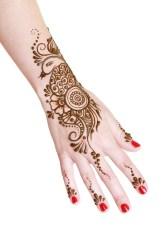 Petal Mehndi Design