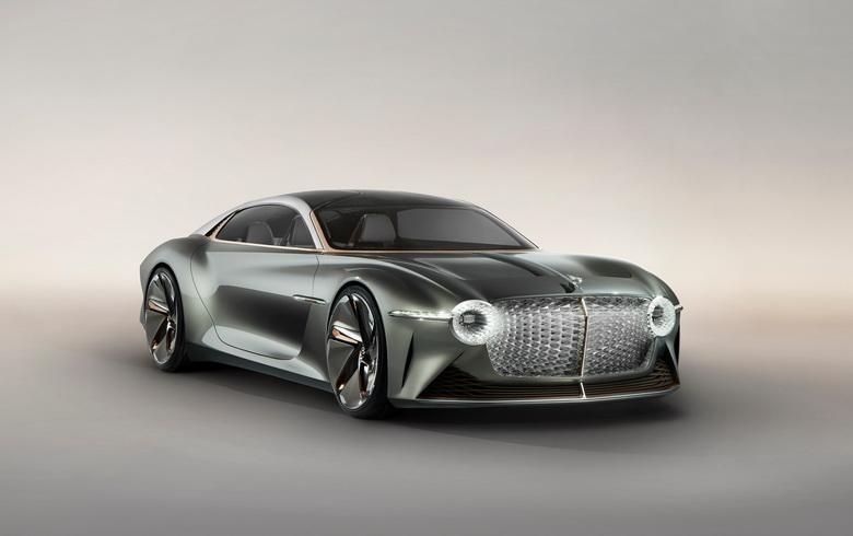 В честь 100-летия бренда британцы представили концепт электромобиля Bentley