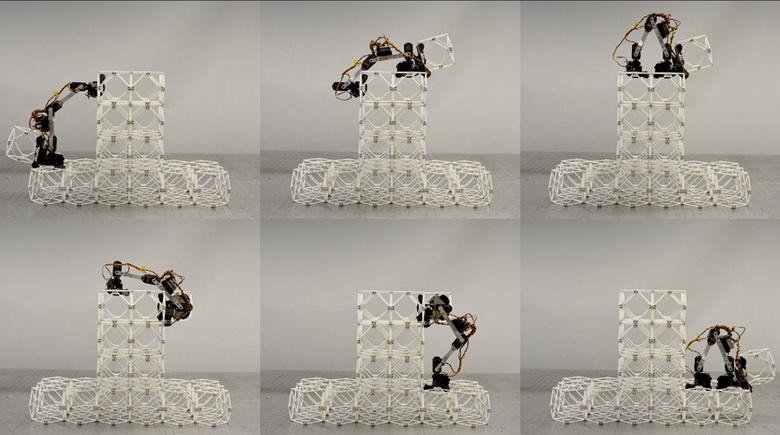 """Роботы BILL-E представляют собой """"руку"""" с несколькими степенями свободы и захватами с обоих концов."""