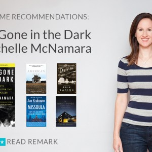 Read Remark Booktube Video - I'll Be Gone in the Dark and True Crime Recommendations