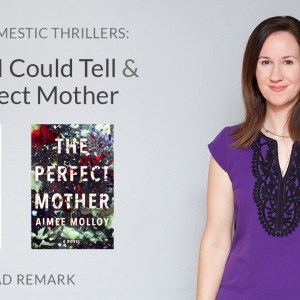 Read Remark Booktube Video - Not That I Could Tell and The Perfect Mother