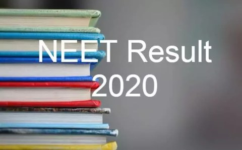NEET Result 2020 Latest Update