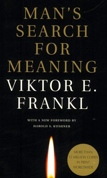 Cover Victor Frankl Man's Search for Meaning