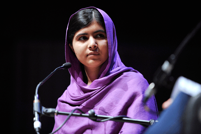 Malala Yousafzai at the 2014 Women of the World Festival
