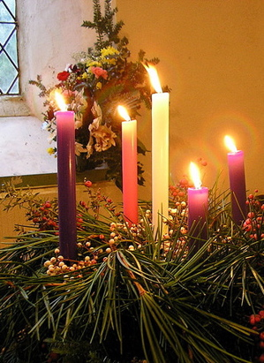 Advent Preparation For Christs Coming Begins For Western