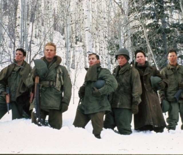 A Platoon Of 6 Surviving Members Of An Intelligence Team Are In A Dilemma About A Group Of Germans Who Want To Surender C 1992 Columbia Tristar Home