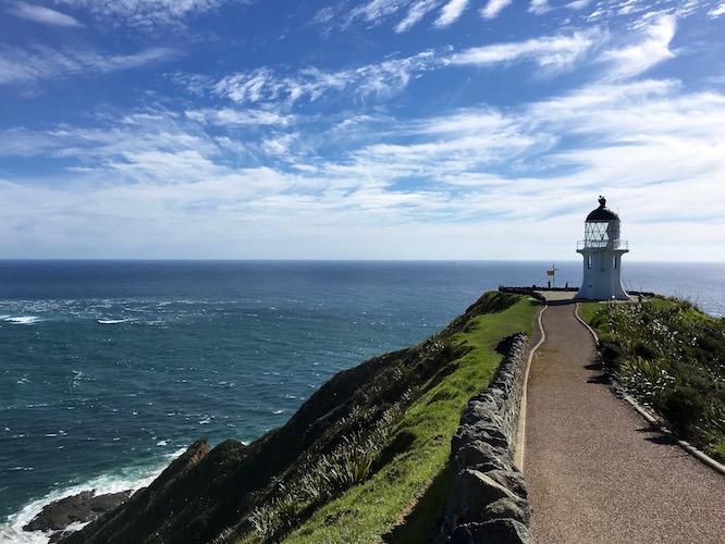 NZ Cape Reinga lighthouse 1