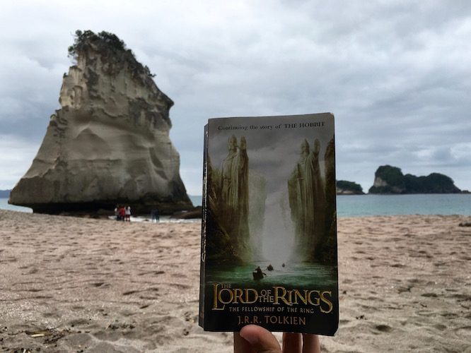 LOTR Cathedral Cove