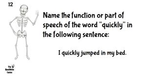 Barebones Grammar Board Game