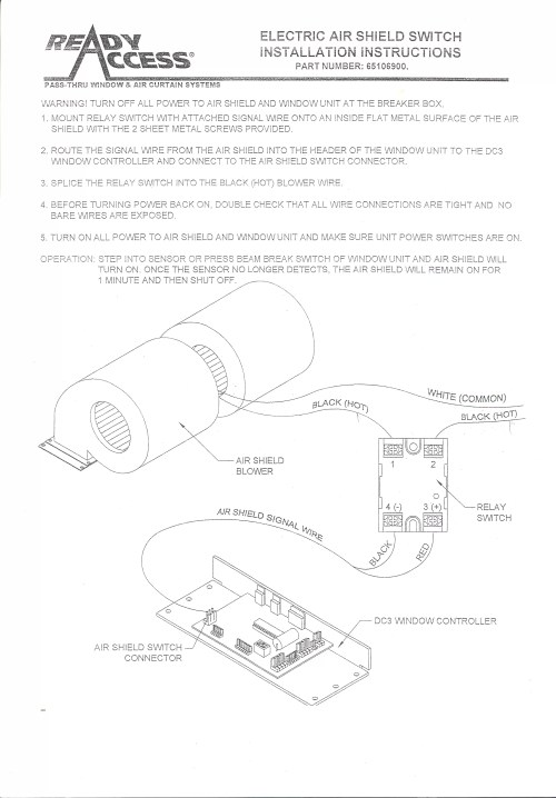 small resolution of fly fan switch electric window installation
