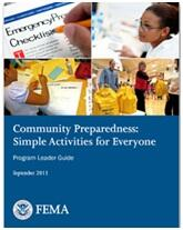 Cover of Community Preparedness: Implementing Simple Activities for Everyone Guide