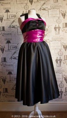 Fae 50's Halter Neck Dress AUG16-3