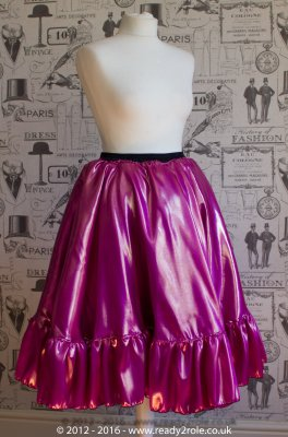 Liquid Satin 50's Style Sissy Petticoat