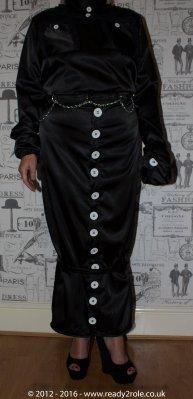 Sissy Hobble Dress