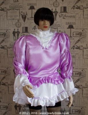 Sissy Dress Lily Lilac DEC16-1