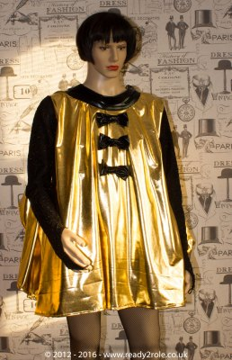 Sissy Gold Dress DEC16-15