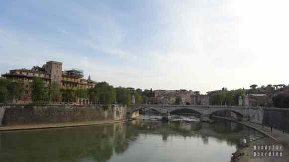 Tyber w Rzymie