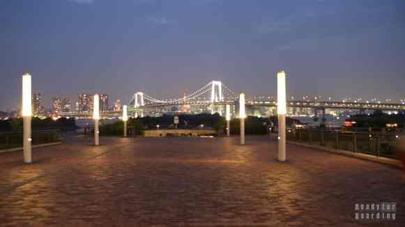 Japonia, Tokio - Odaiba, Rainbow Bridge