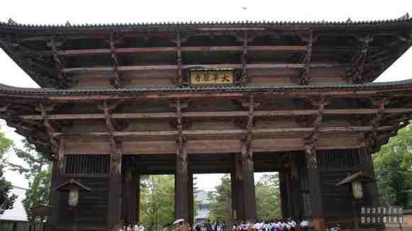 Brama Nandaimon Gate do Todaiji Temple