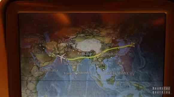 Lot z Osaki do Dubaju
