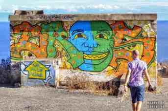 Street art na Playa de las Teresitas - Santa Cruz de Tenerife