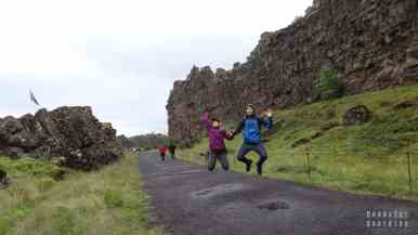 Park Narodowy Þingvellir - płyty tektonicznech, Golden Circle - Islandia