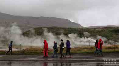 Gejzery, Golden Circle - Islandia