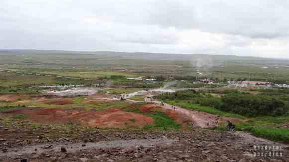 Najsłynniejszy gejzer - Geysir, Golden Circle - Islandia
