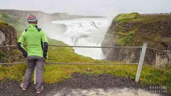 Wodospad Gullfoss, Golden Circle - Islandia