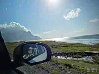 Islandia - droga z Hofn do Reyðarfjörður