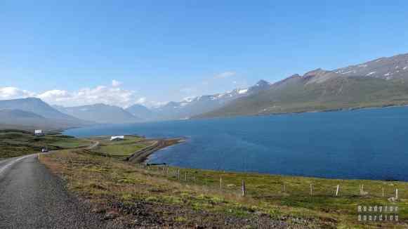 Fiordy, Reyðarfjörður- Islandia