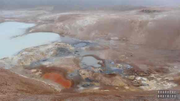 Gorące źródła, Leirhnjúkur, Islandia północna