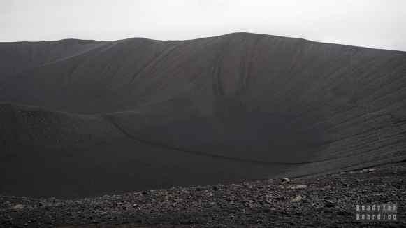 Wulkan Hverfjall, Mývatn, Islandia północna