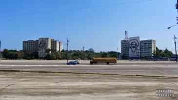 Plac Rewolucji w Hawanie - Kuba