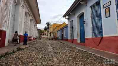 Jedna z wielu pięknych ulicze w Trinidadzie - Kuba