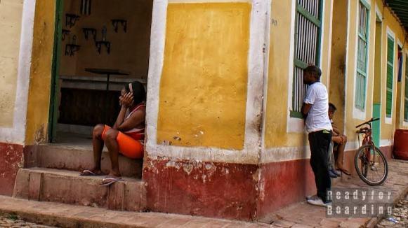 Typowa uliczka w Trinidad - Kuba