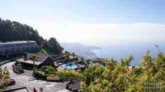 Cabo Girão, widok na Funchal - Madera