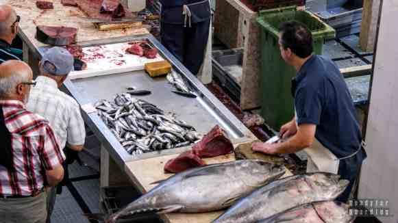 Targ rybny - Funchal, Madera