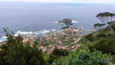 Widok na Porto Moniz, Madera