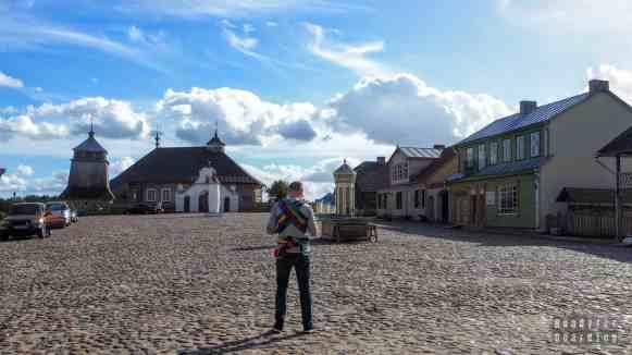 Rynek w skansenie w Rumszyszkach - Litwa