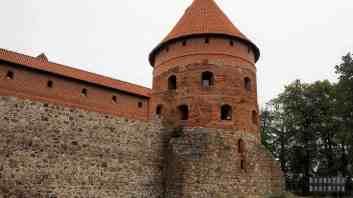 Baszta, Zamek w Trokach - Litwa
