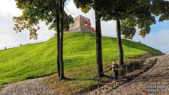 Wzgórze Giedymina - Wilno, Litwa