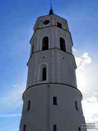 Dzwonnica przy archikatedrze w Wilnie