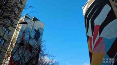 Murale Ekty i Runa- Murale na Osiedlu Zaspa
