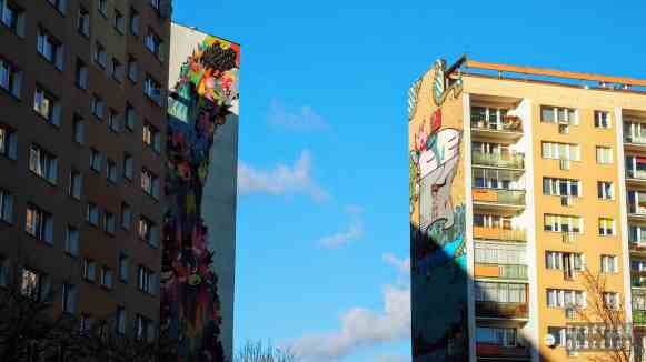 Murale M. Prozaka oraz Same84, Murale na Osiedlu Zaspa