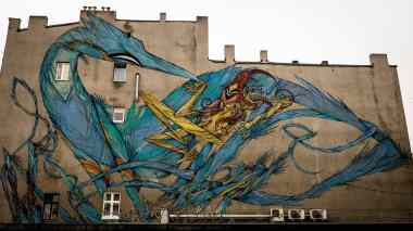 Łódzkie murale - Autor: Michał Wochniak, http://bit.ly/2h4ZK0y