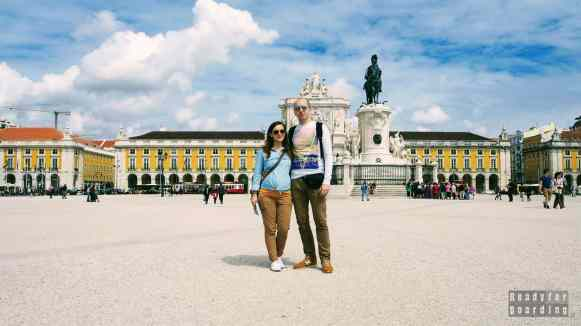 Praca do Comercio, Lizbona