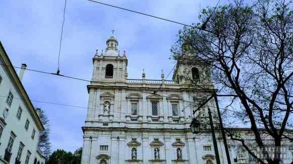 Igreja de Sao Vicente de Fora - Lizbona